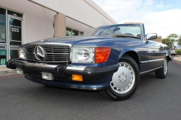 1987 Mercedes-Benz 560 Series