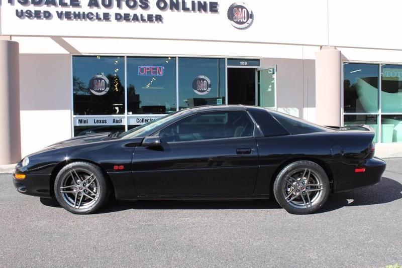 Used-1999-Chevrolet-Camaro-Z28-SS-SLP-T-Top-Car-34,267-Miles-4X4