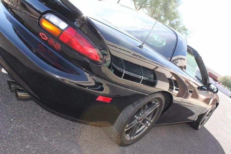 Used-1999-Chevrolet-Camaro-Z28-SS-SLP-T-Top-Car-34,267-Miles-Tesla