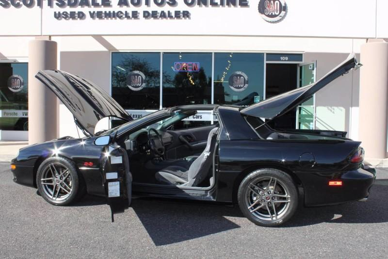Used-1999-Chevrolet-Camaro-Z28-SS-SLP-T-Top-Car-34,267-Miles-Collector