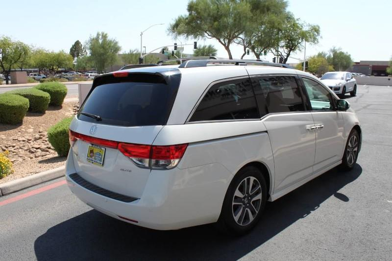 Used-2015-Honda-Odyssey-Touring-Elite-1-Owner-New-Car-Specials-IL