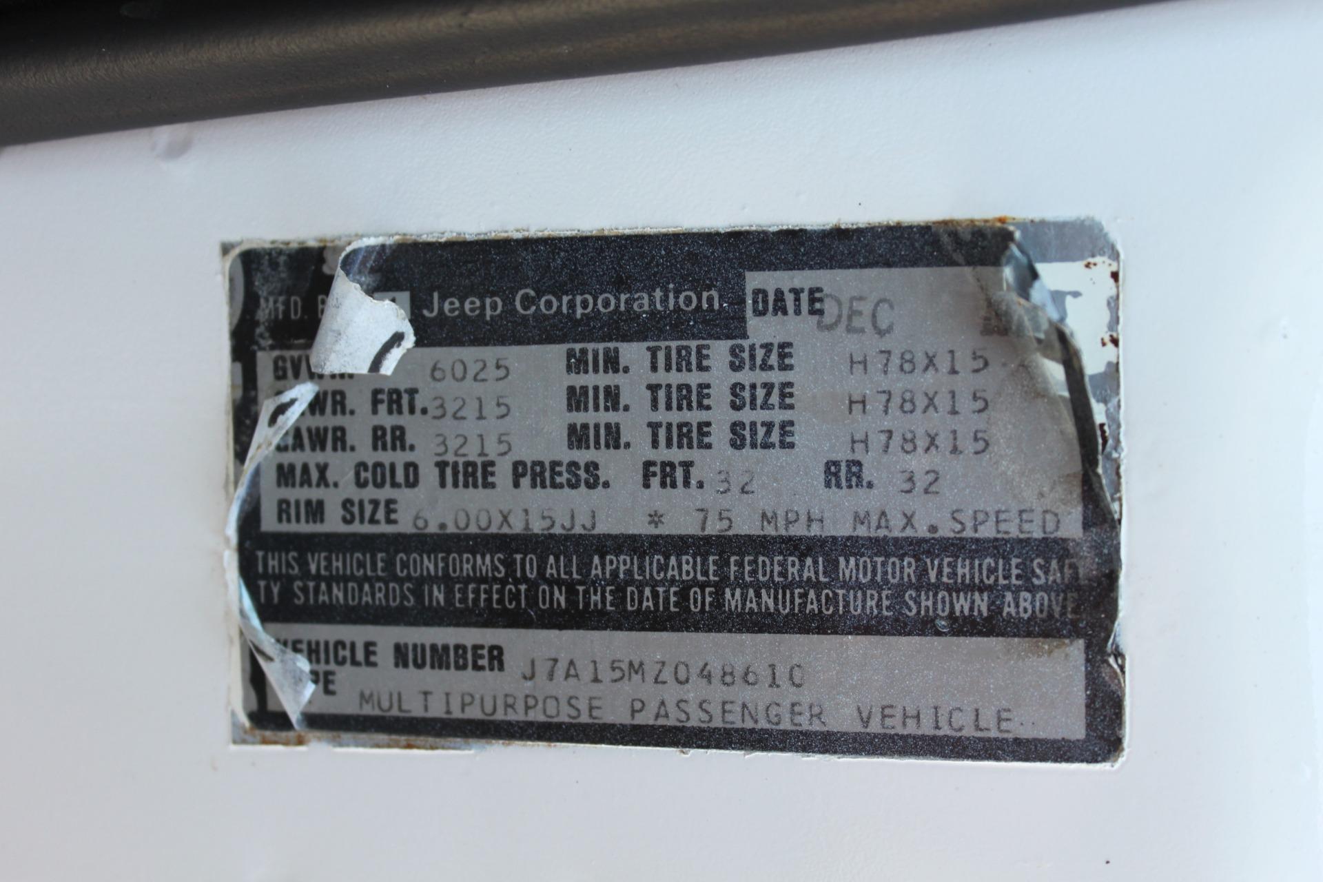 Used-1977-Jeep-Wagoneer-Custom-Fuel-Injected-66-Liter-401-Lamborghini