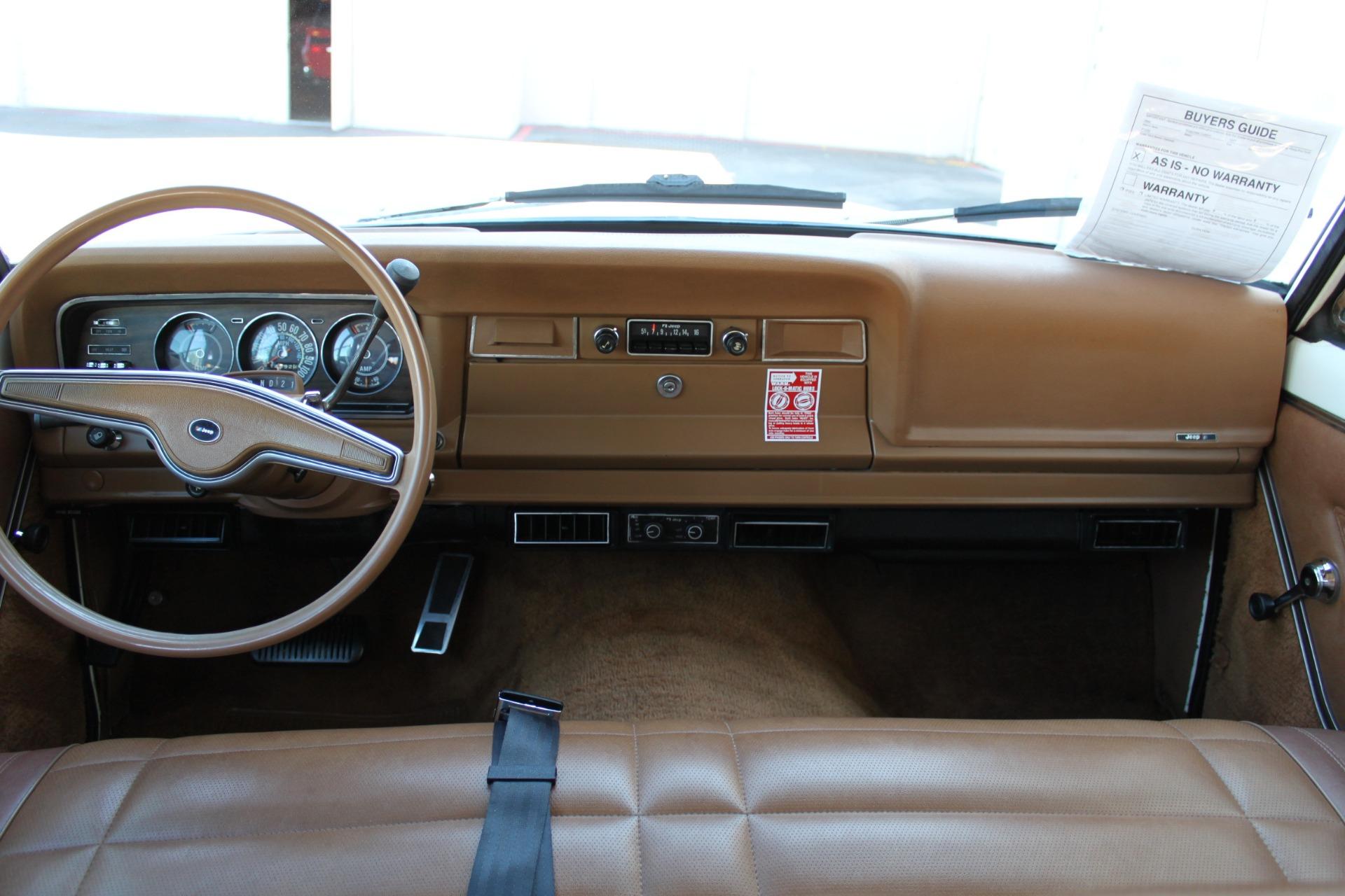 Used-1977-Jeep-Wagoneer-Custom-Fuel-Injected-66-Liter-401-vintage