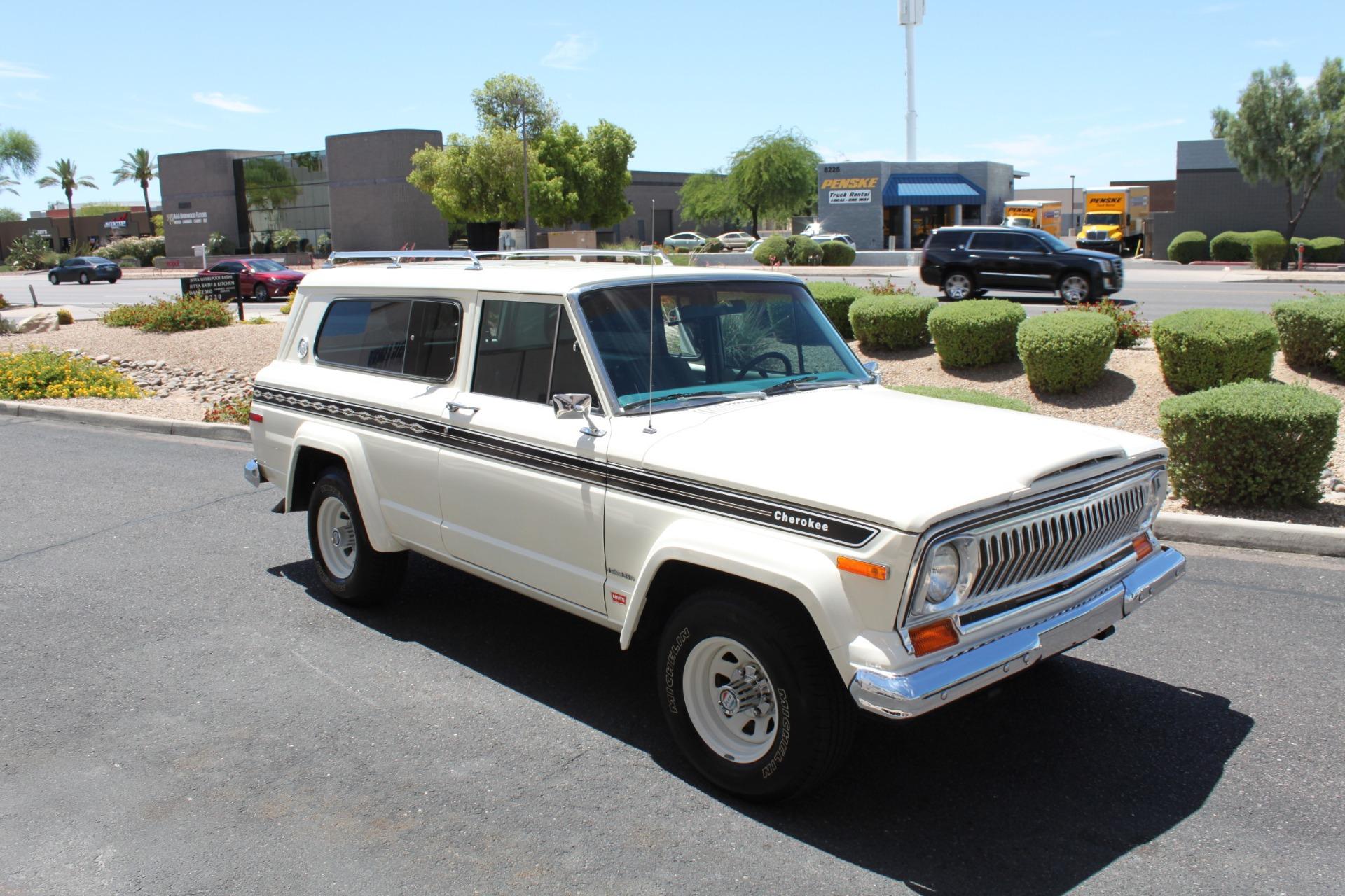 Used-1977-Jeep-Cherokee-S-Widetrack-4X4-401-V8-Honda