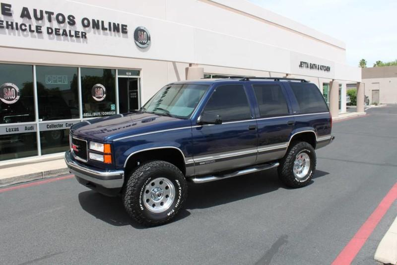 Used-1999-GMC-Yukon-SLE-4X4-Dodge