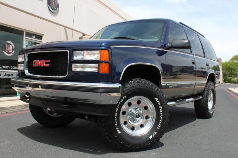 Used 1999 GMC Yukon SLE 4X4 <span>SLE</span>   Scottsdale, AZ