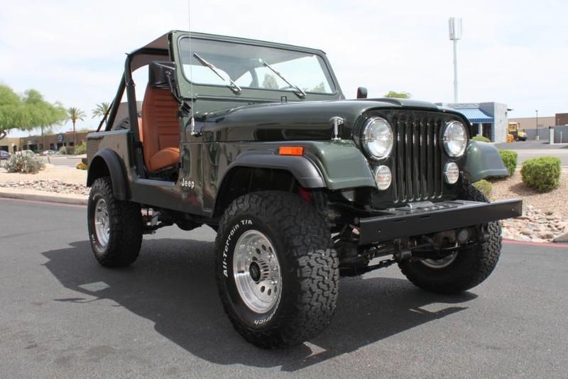 Used-1983-Jeep-CJ-4WD-CJ7-Mercedes-Benz