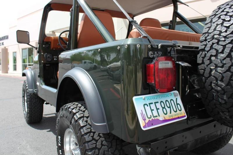 Used-1983-Jeep-CJ-4WD-CJ7-Tesla