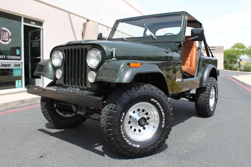 Used 1983 Jeep CJ 4WD <span>CJ7</span> | Scottsdale, AZ