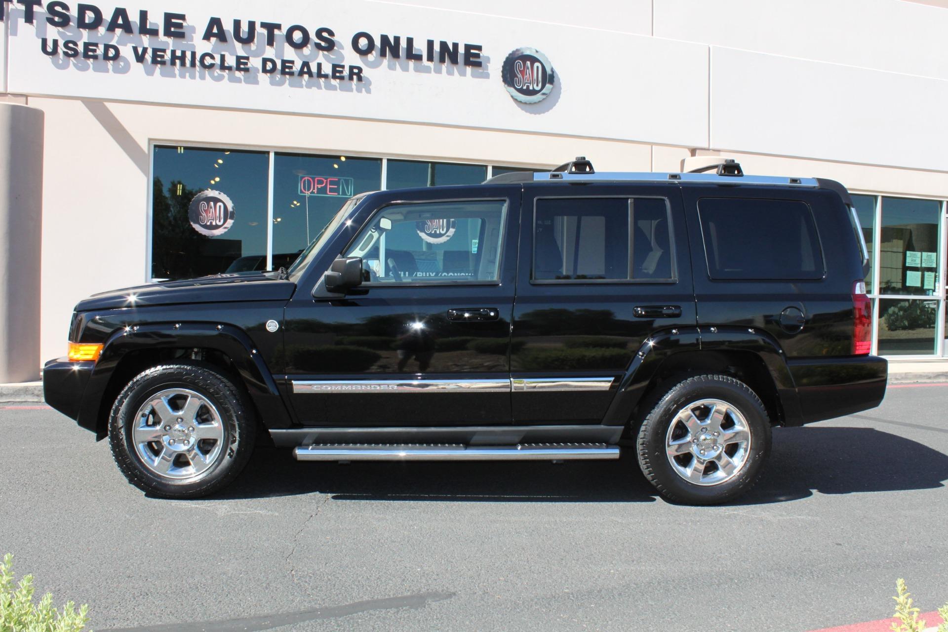 Used-2007-Jeep-Commander-Limited-Wagoneer