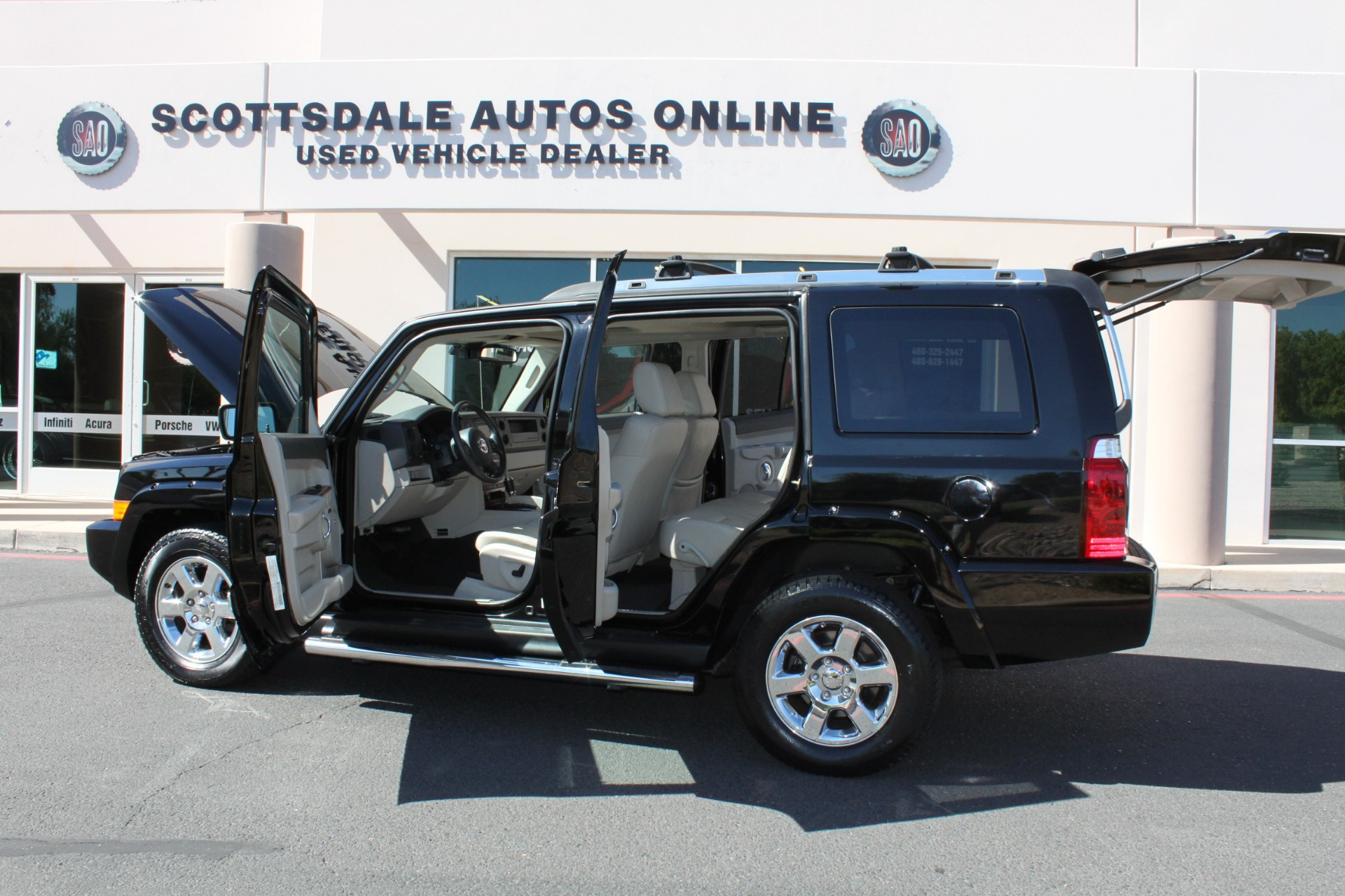 Used-2007-Jeep-Commander-Limited-Ford