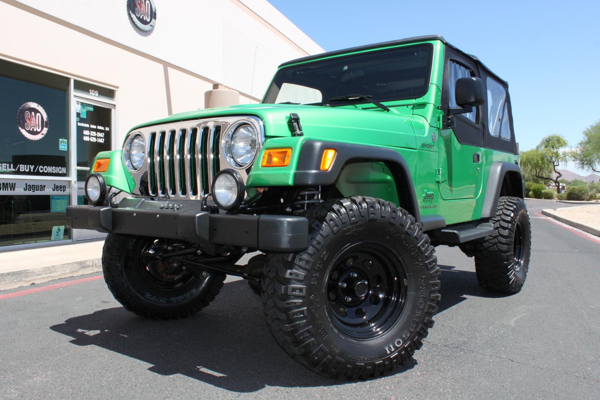 Used 2004 Jeep Wrangler <span>Sport</span> | Scottsdale, AZ