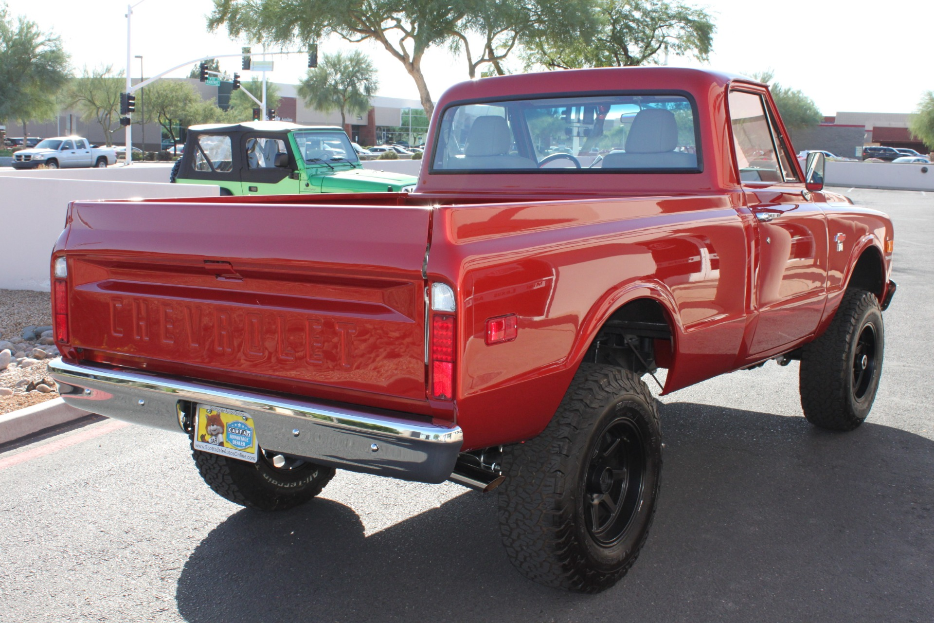 Used-1968-Chevrolet-K10-(C10)-1/2-Ton-Short-Bed-4X4-Mercedes-Benz