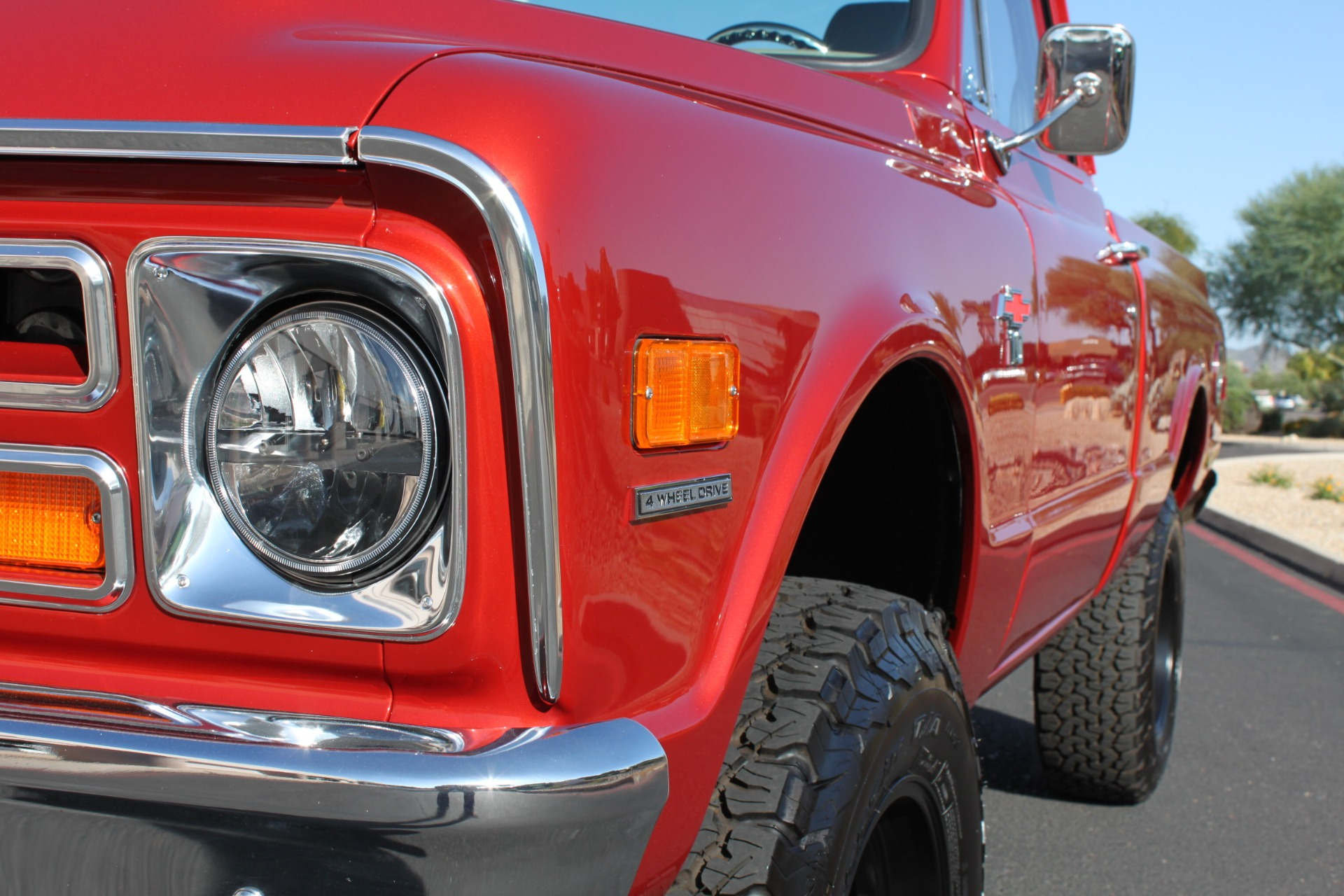 Used-1968-Chevrolet-K10-(C10)-1/2-Ton-Short-Bed-4X4-Camaro