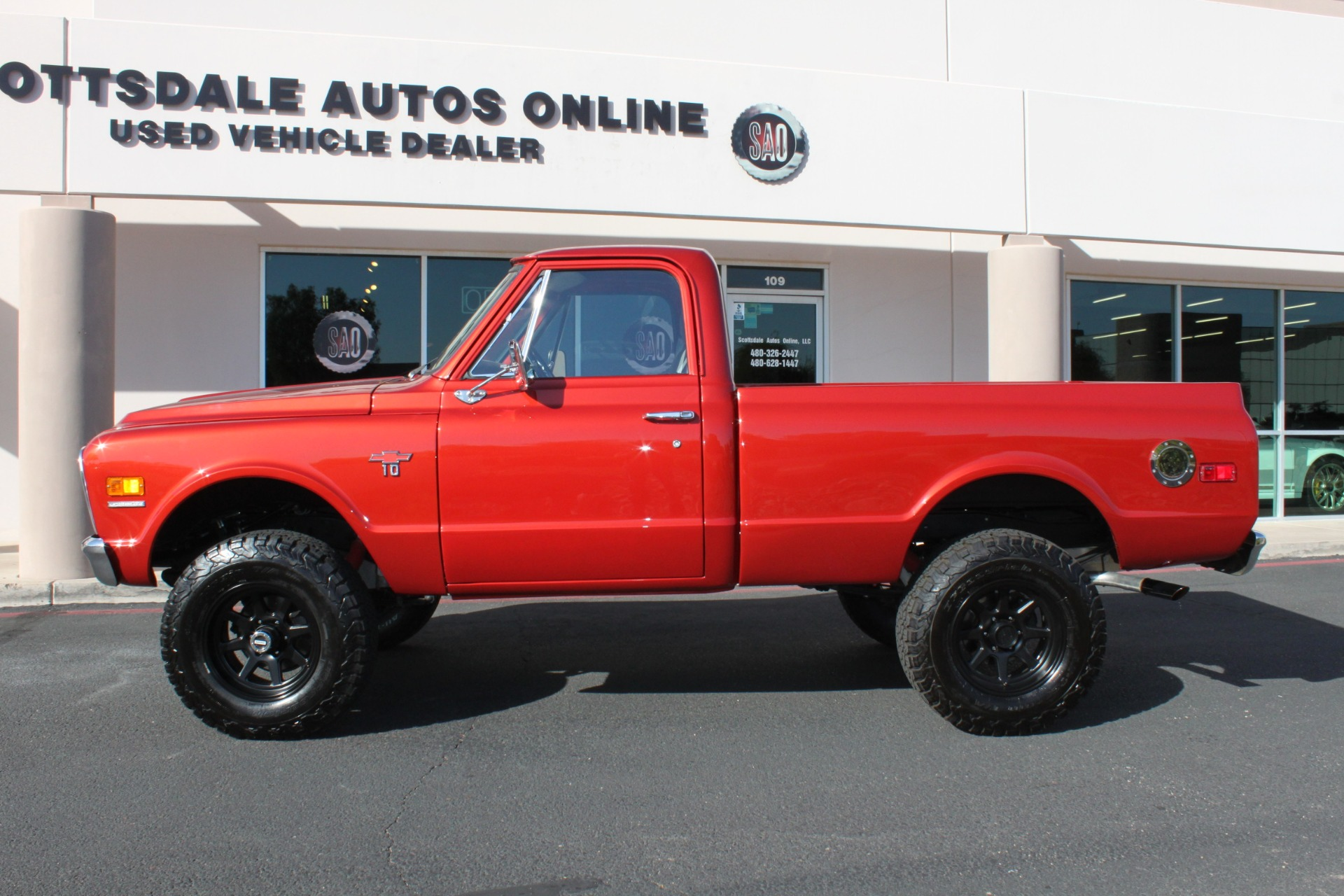 Used-1968-Chevrolet-K10-(C10)-1/2-Ton-Short-Bed-4X4-Wagoneer