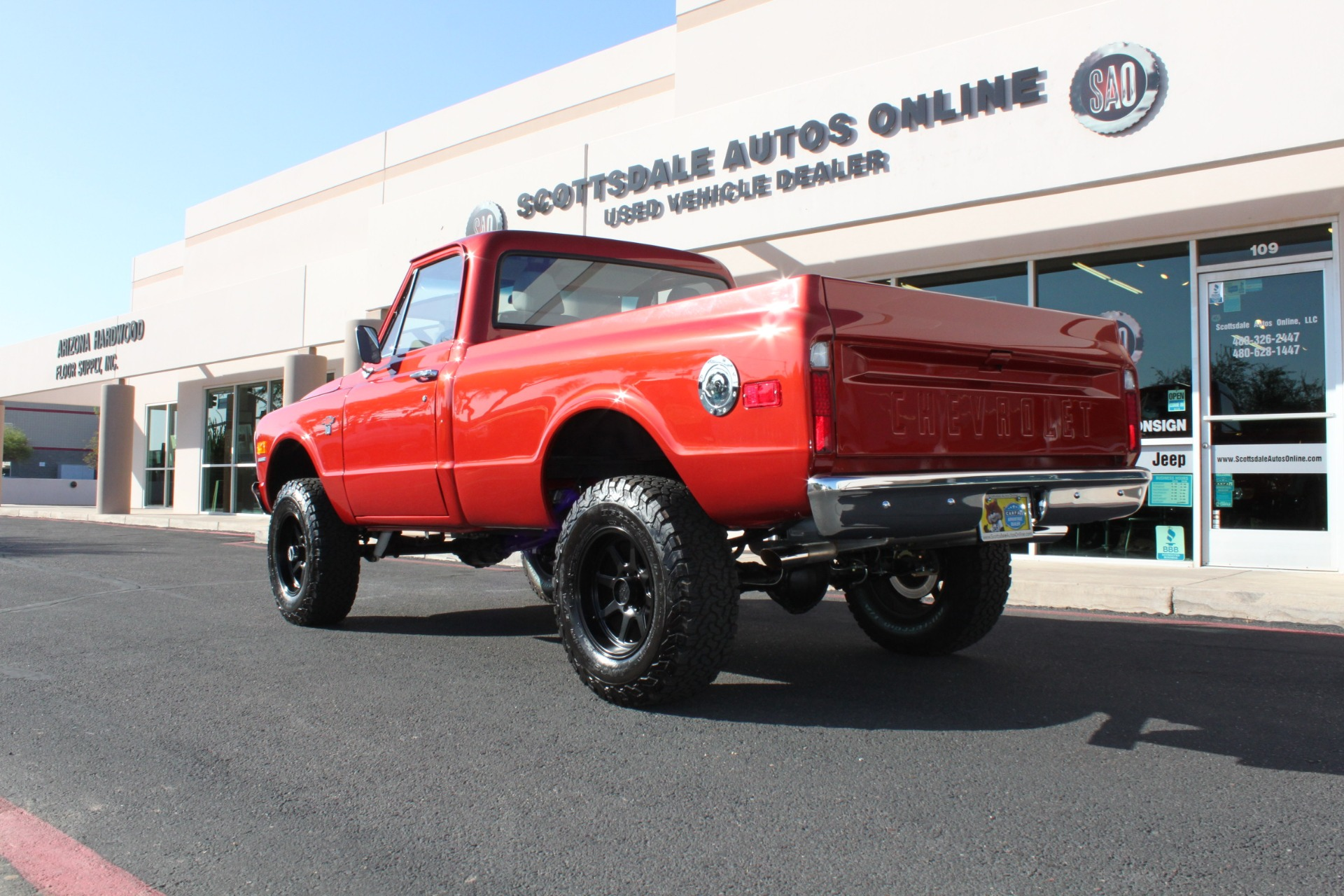 Used-1968-Chevrolet-K10-(C10)-1/2-Ton-Short-Bed-4X4-Mini