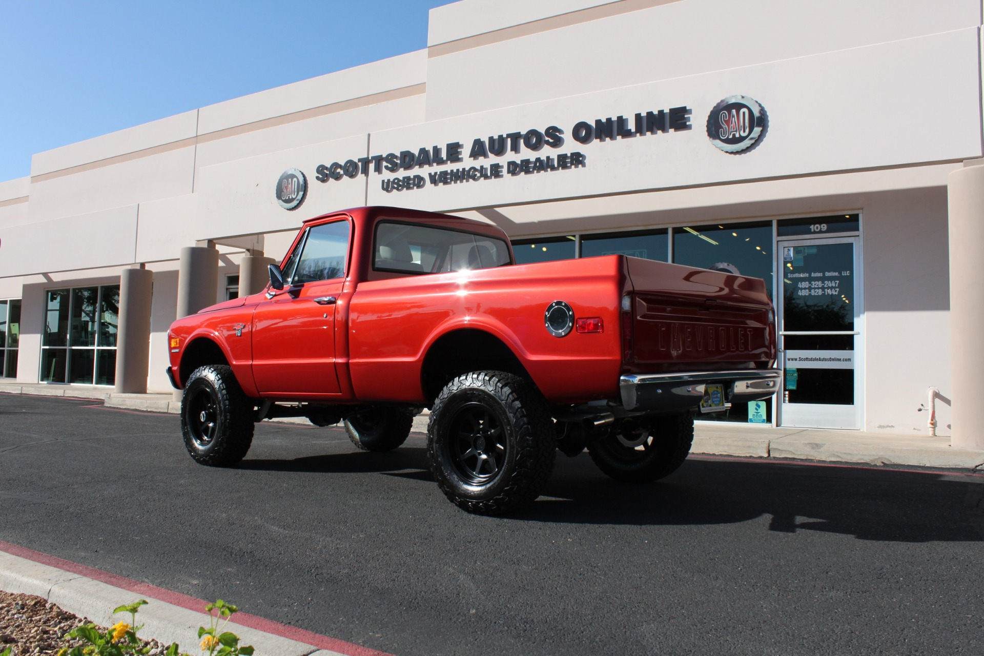 Used-1968-Chevrolet-K10-(C10)-1/2-Ton-Short-Bed-4X4-Ford