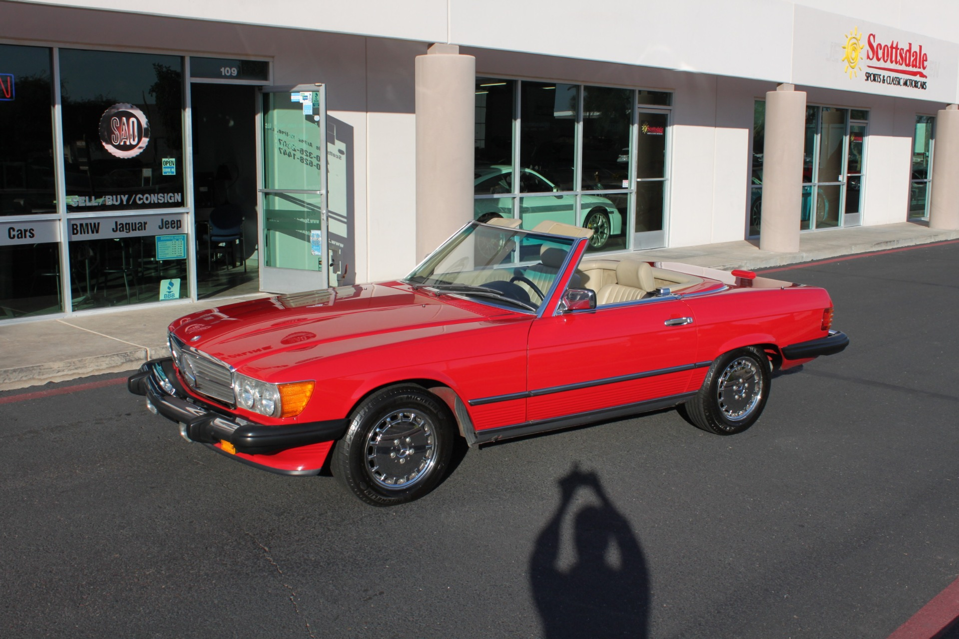 Used-1989-Mercedes-Benz-560-Series-560SL-Acura