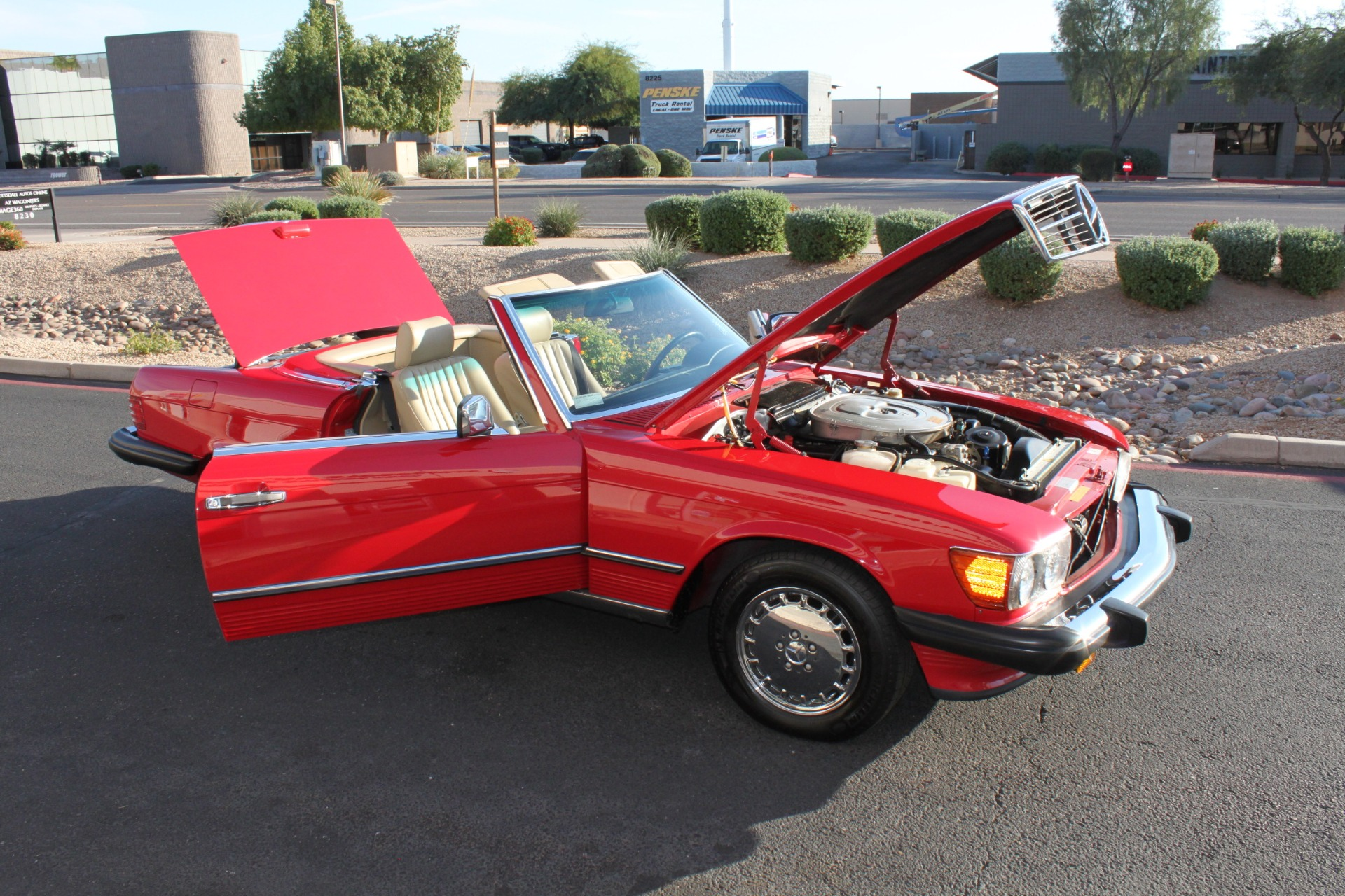 Used-1989-Mercedes-Benz-560-Series-560SL-Ford