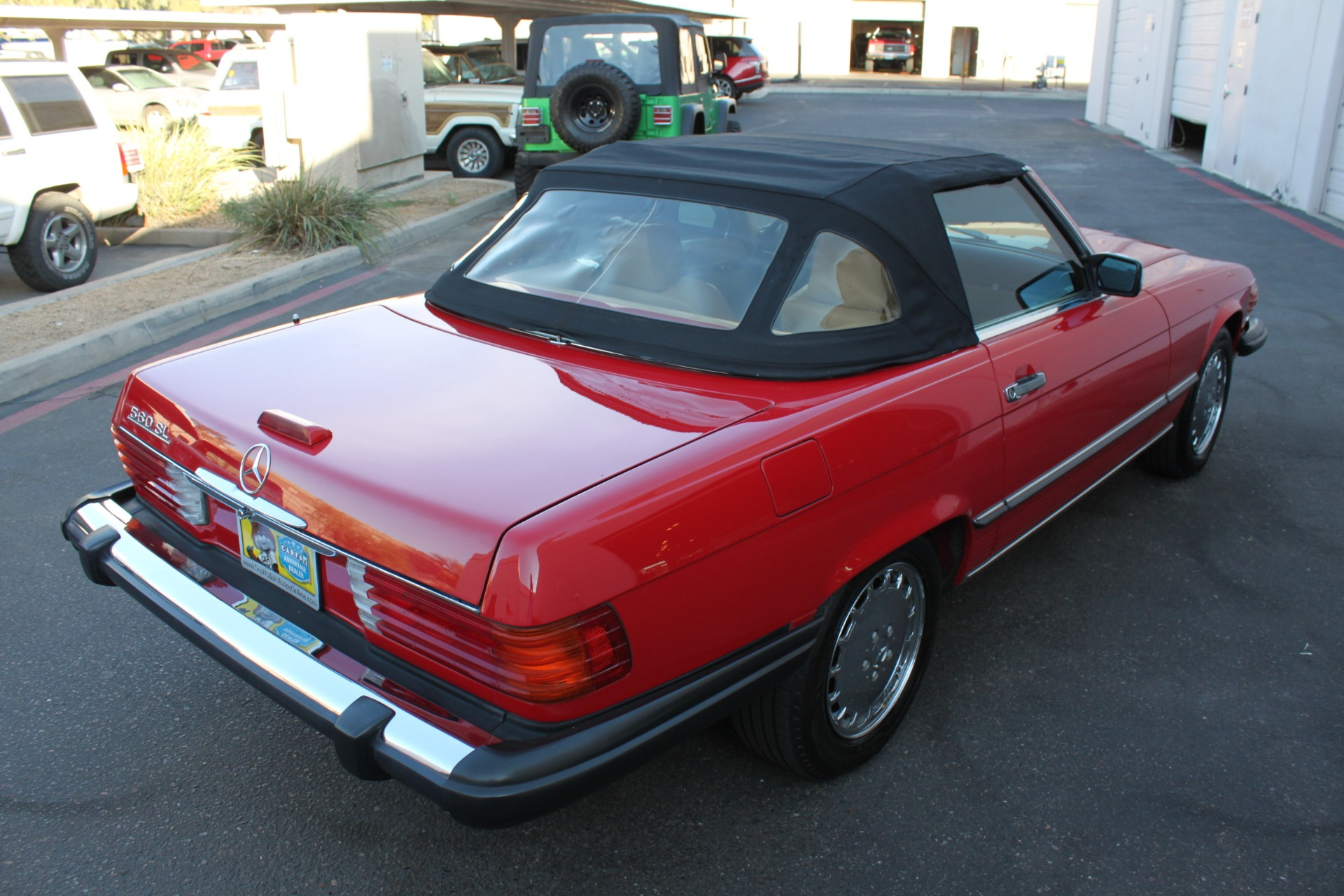 Used-1989-Mercedes-Benz-560-Series-560SL-Tesla