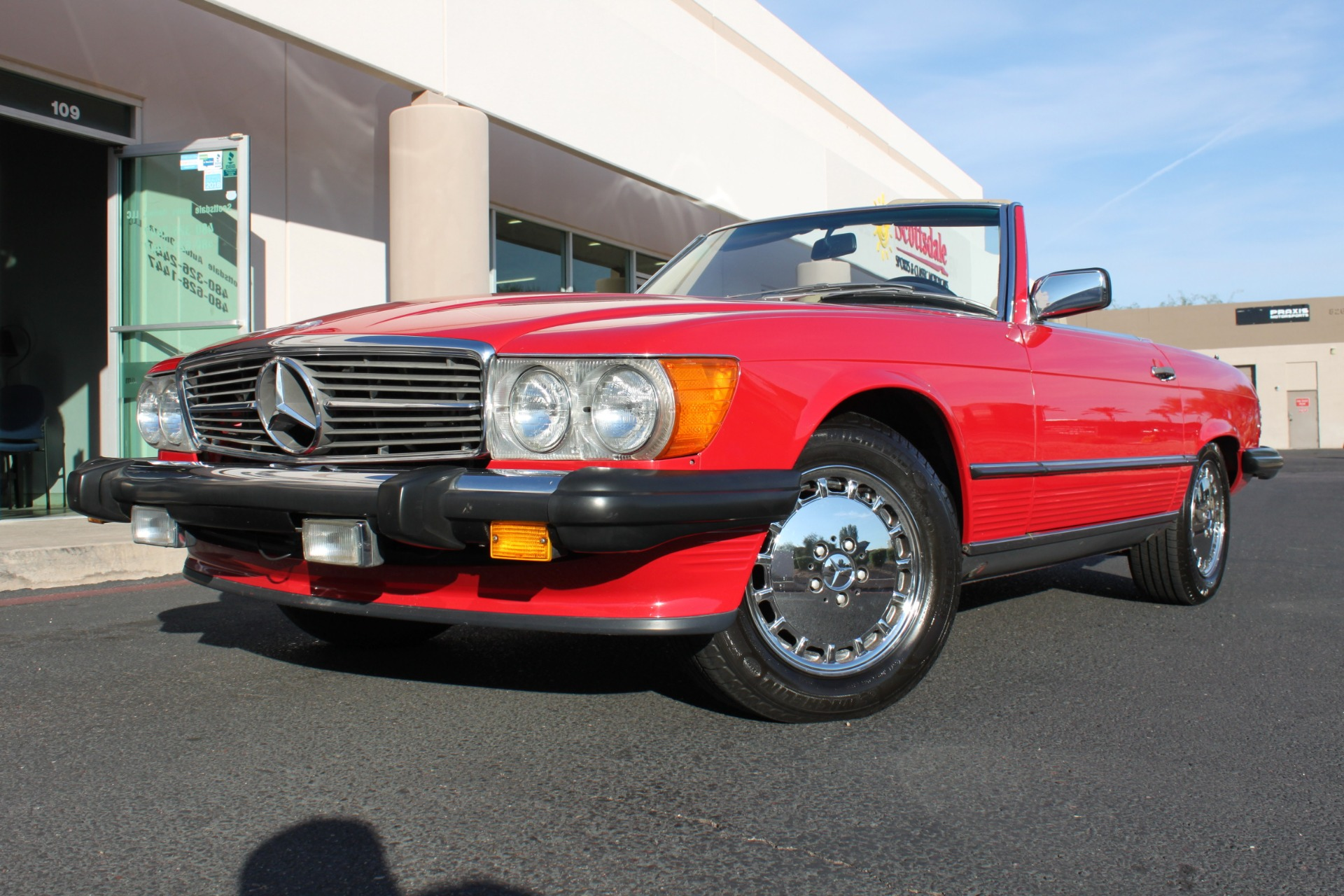 Used 1989 Mercedes-Benz 560 Series <span>560SL</span> | Scottsdale, AZ