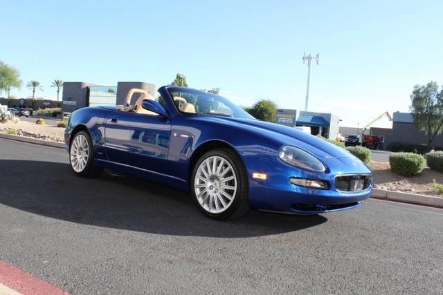 Used-2003-Maserati-Spyder-GT-Porsche