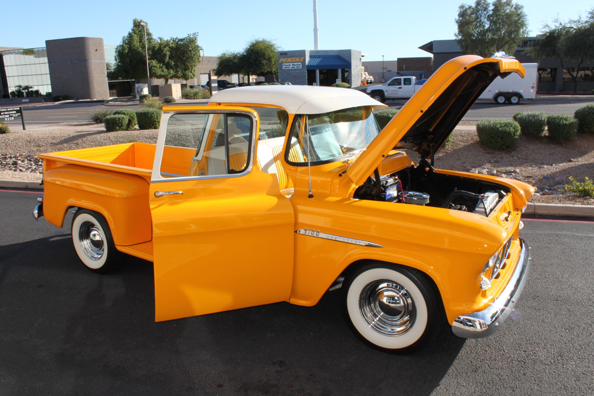 Used-1955-Chevrolet-3100-Pickup-Truck-Tesla