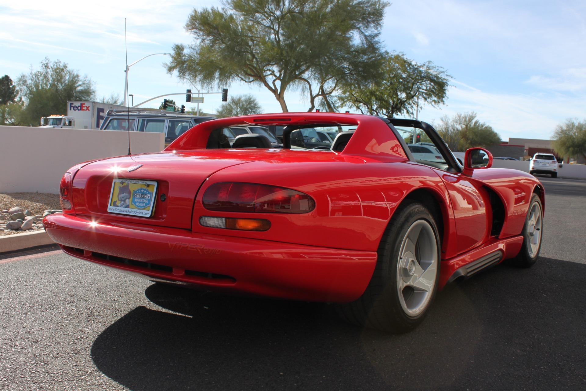 Used-1993-Dodge-Viper-Sports-Car-Classic