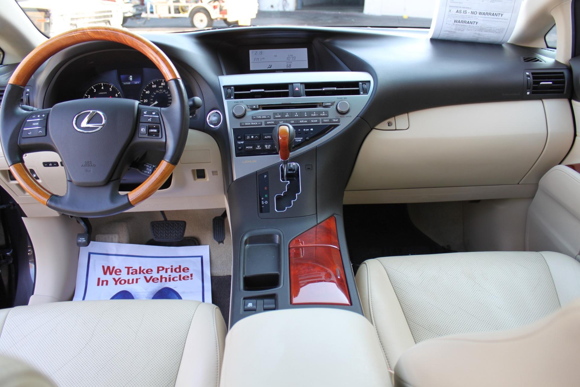 Used-2010-Lexus-RX-350-vintage