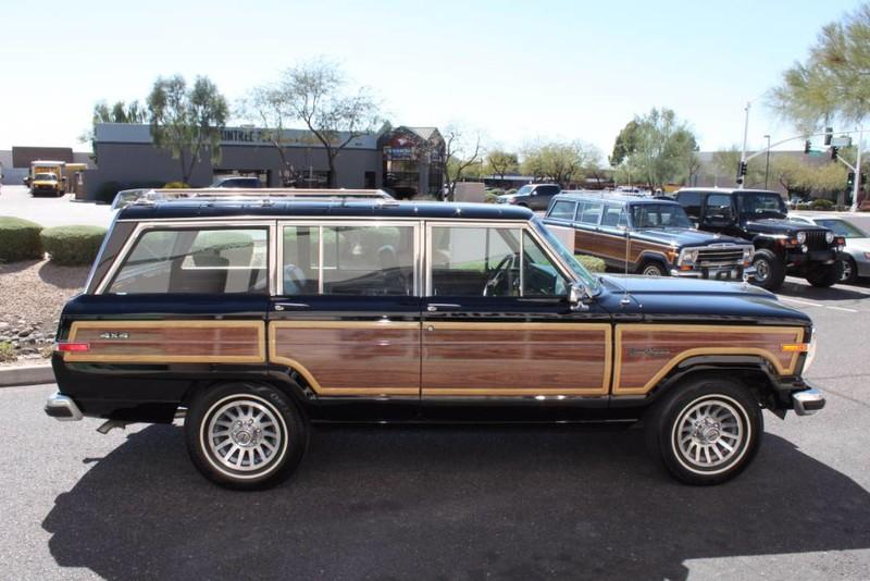 1988 jeep grand wagoneer limited 4x4 stock p1119 for sale near scottsdale az az jeep dealer 1988 jeep grand wagoneer limited 4x4