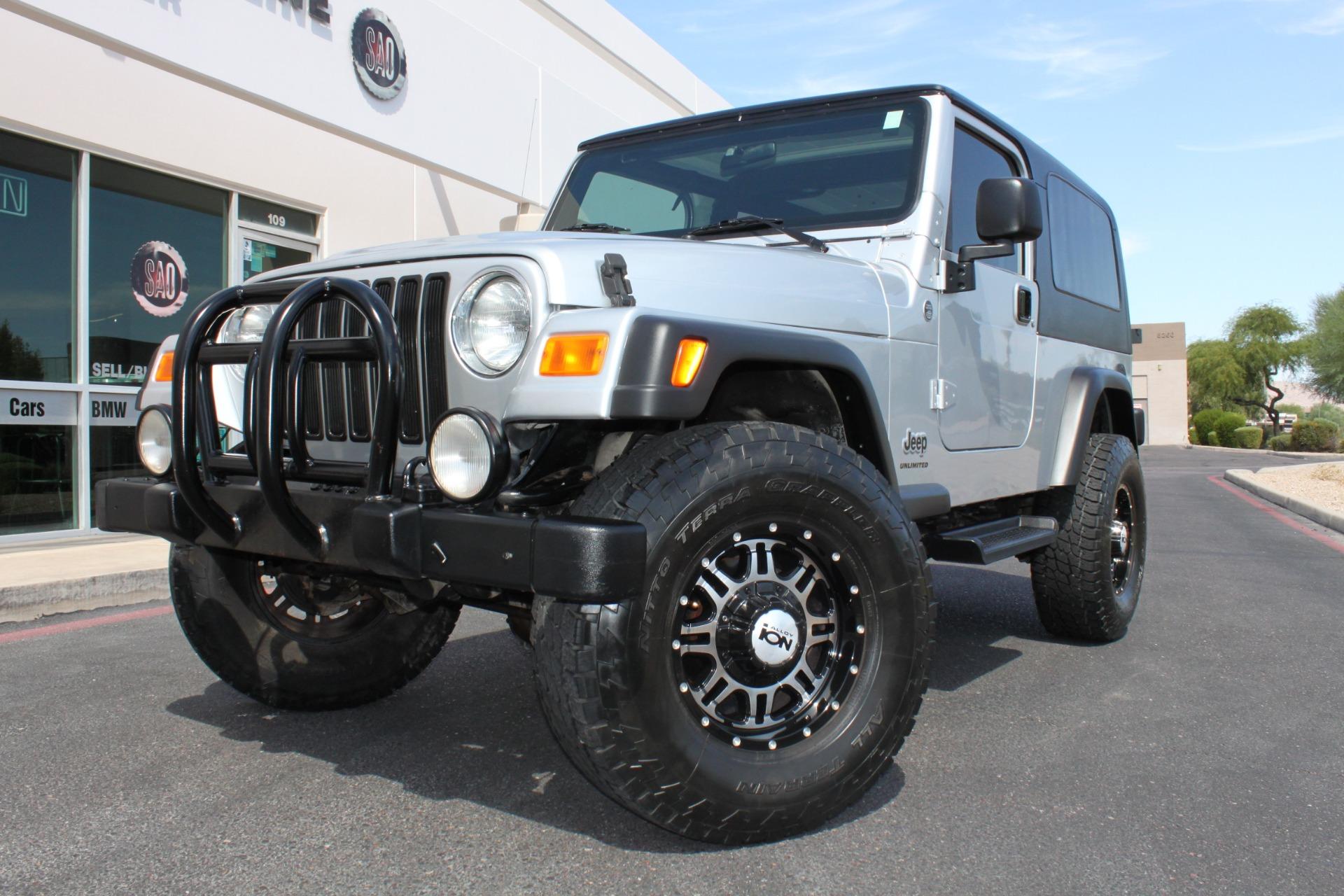 Used 2006 Jeep Wrangler <span>Unlimited LWB</span> | Scottsdale, AZ