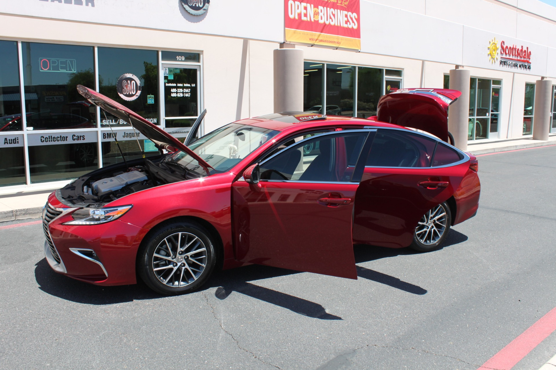 Used-2016-Lexus-ES-350-Honda