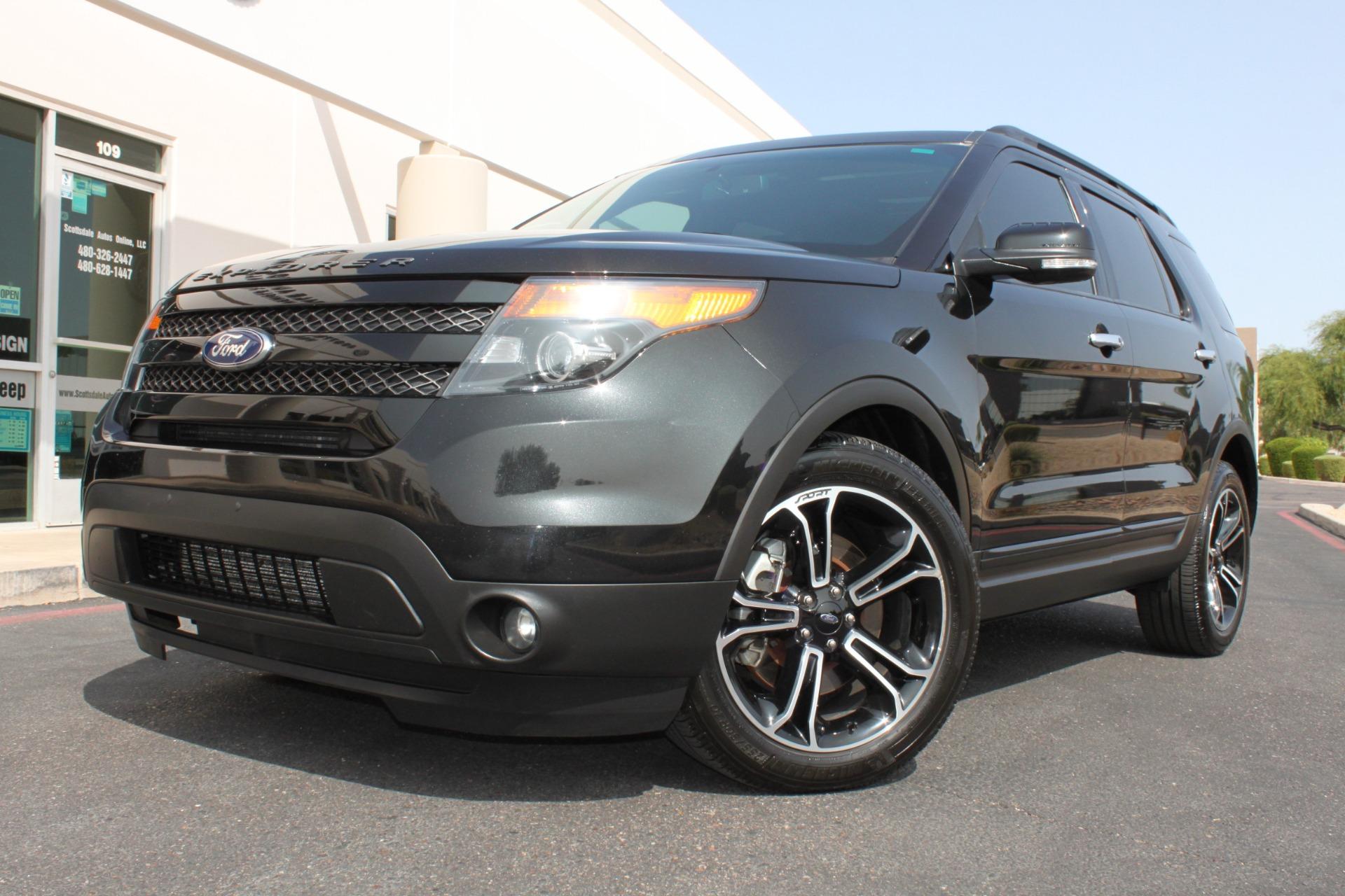 Used 2014 Ford Explorer <span>Sport 4WD</span> | Scottsdale, AZ