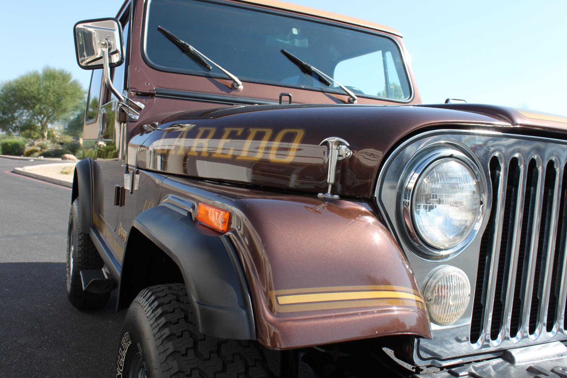 Used-1985-Jeep-CJ-7-Laredo-4WD-4X4