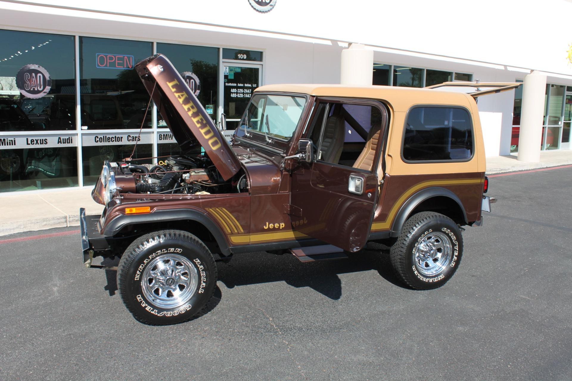 Used-1985-Jeep-CJ-7-Laredo-4WD-Land-Cruiser