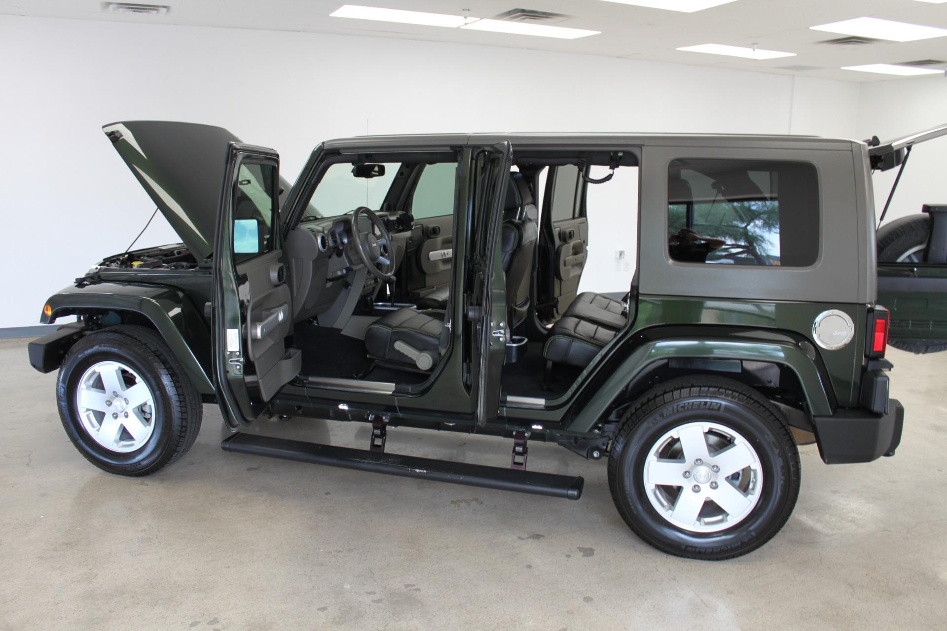 Used-2010-Jeep-Wrangler-Unlimited-Sahara-4X4-Honda