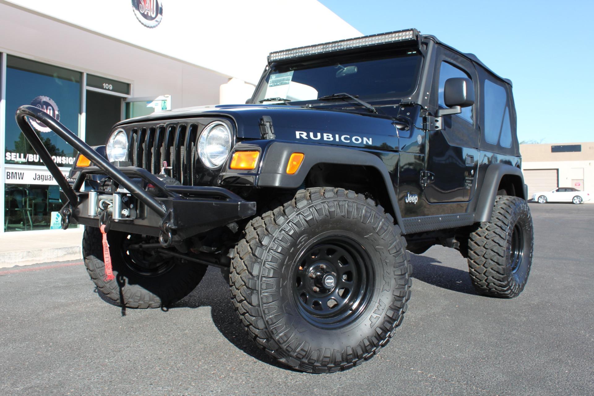 Used 2004 Jeep Wrangler <span>Rubicon</span> | Scottsdale, AZ