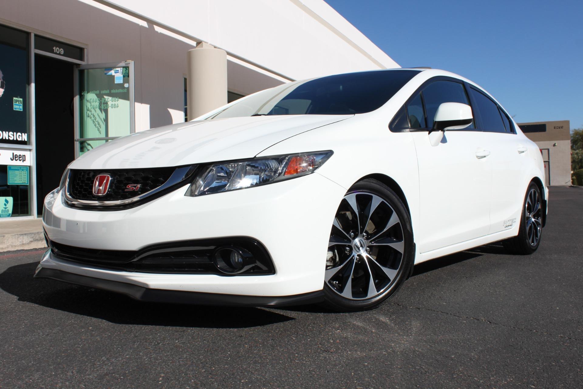 Used 2013 Honda Civic Sedan <span>Si</span> | Scottsdale, AZ