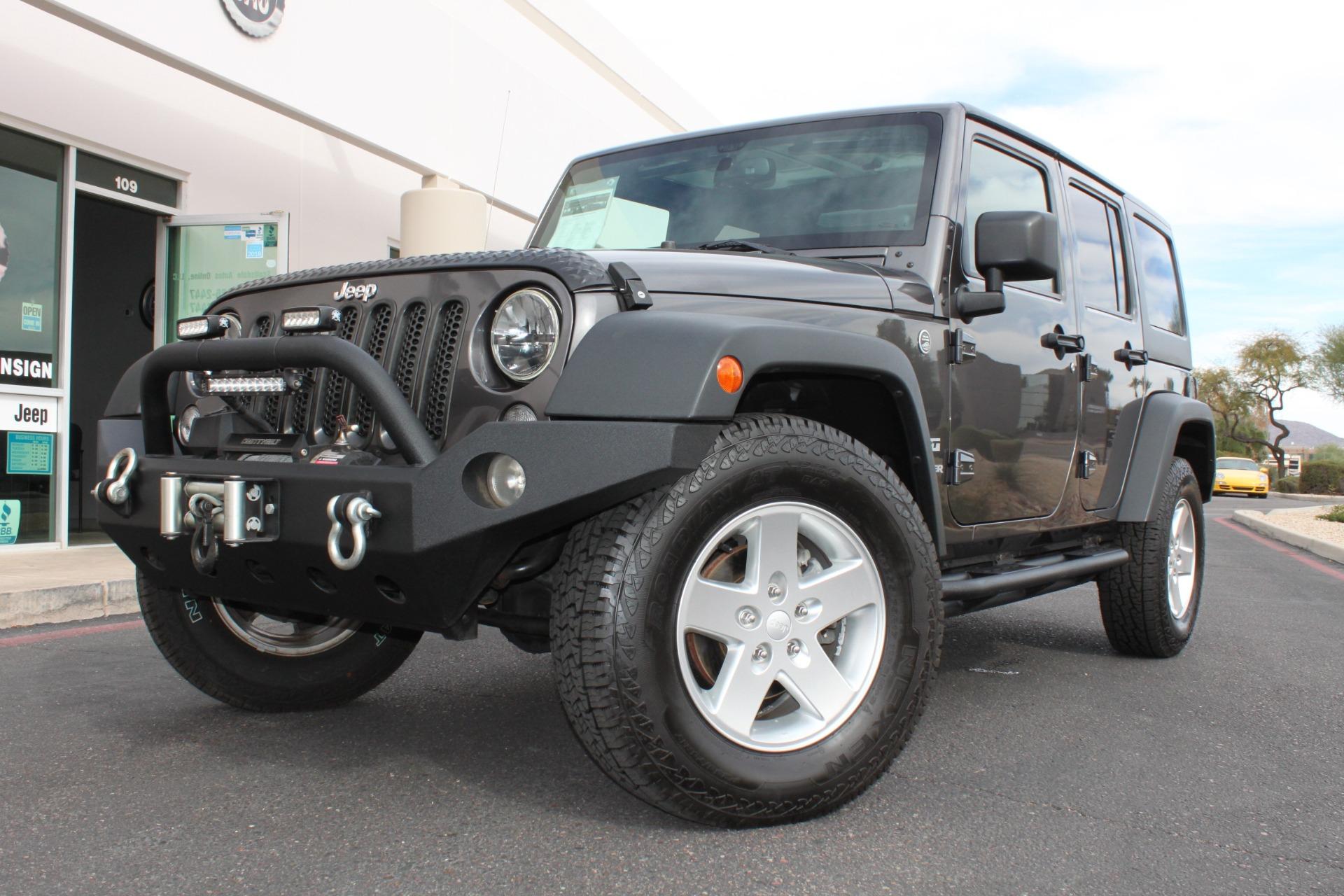 Used 2014 Jeep Wrangler Unlimited <span>Sport 4X4</span> | Scottsdale, AZ