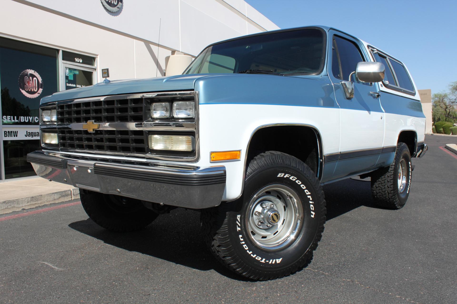 Used 1989 Chevrolet K5 Blazer 4X4 <span></span>   Scottsdale, AZ