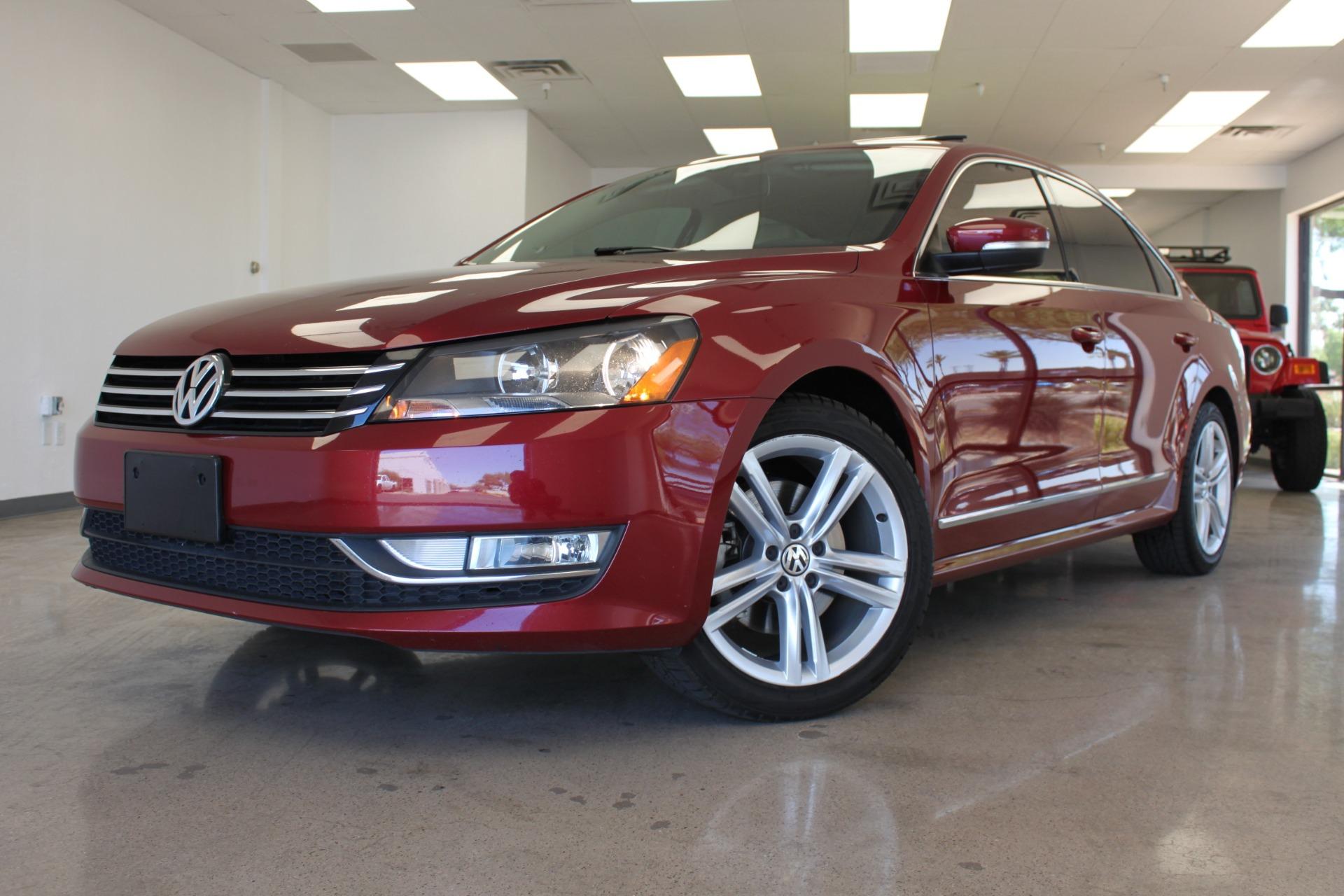 Used 2015 Volkswagen Passat <span>1.8T SE w/Sunroof & Nav</span>   Scottsdale, AZ