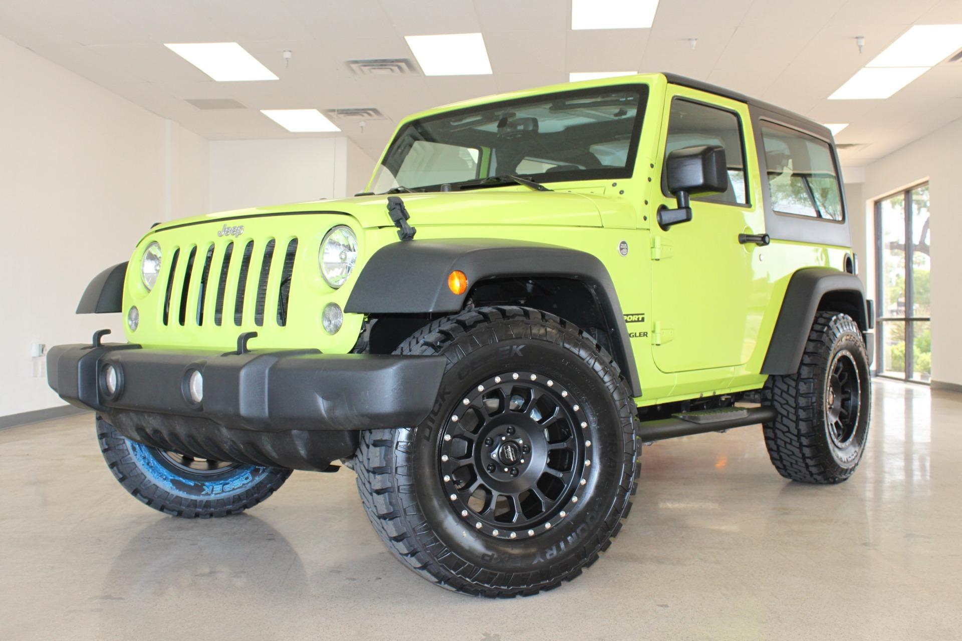 Used 2016 Jeep Wrangler <span>Sport</span> | Scottsdale, AZ
