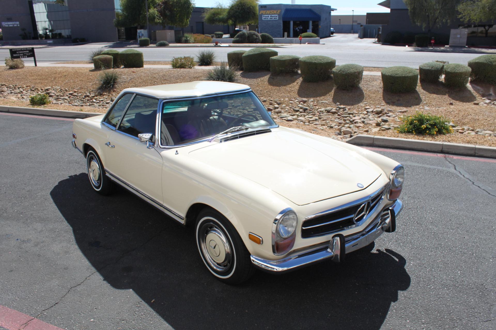 Used-1971-Mercedes-Benz-280SL-Convertible-Porsche
