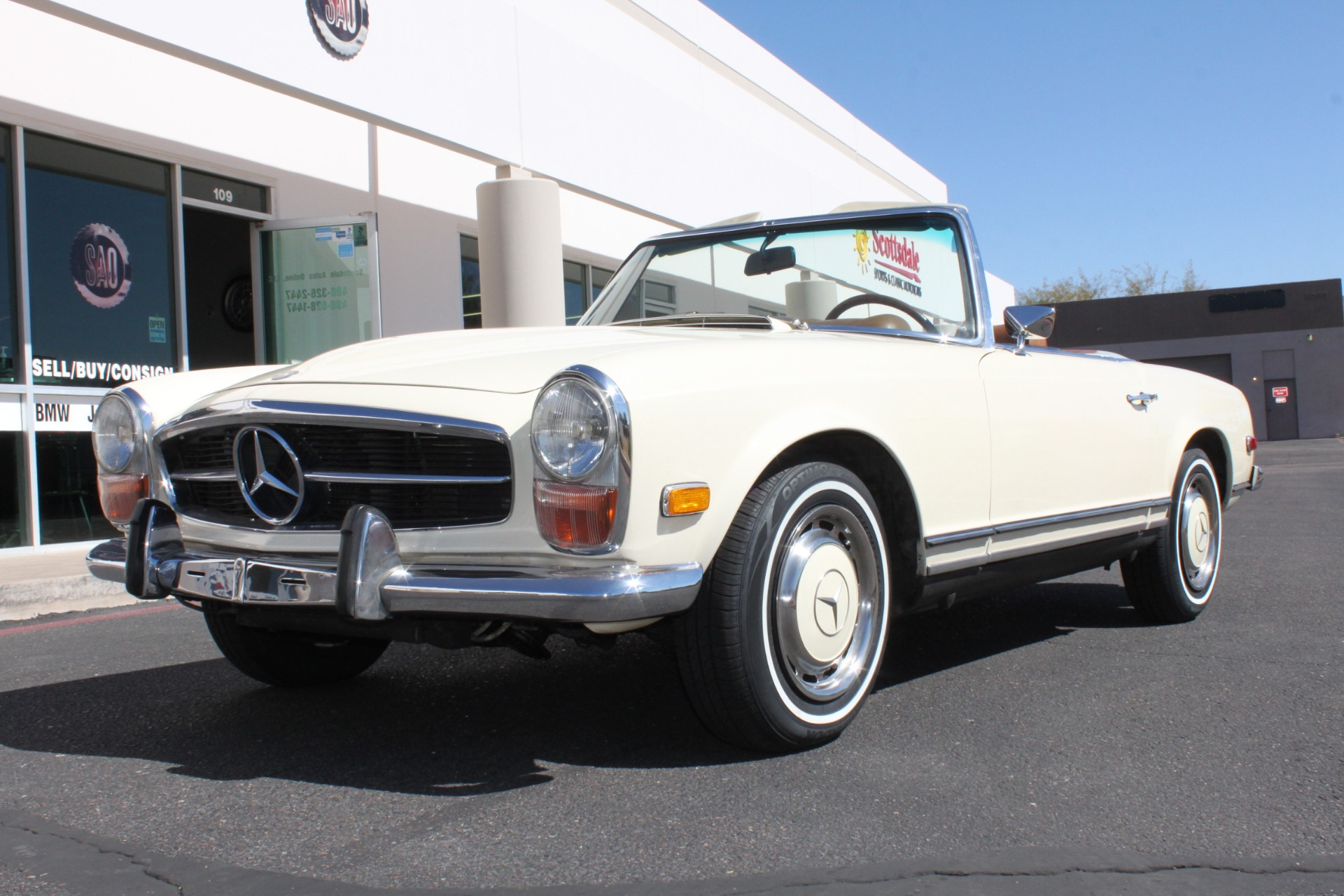 Used 1971 Mercedes-Benz 280SL <span>Convertible</span> | Scottsdale, AZ