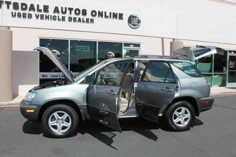 Used-2001-Lexus-RX-300-All-Wheel-Drive-1-Owner-for-sale-in-IL
