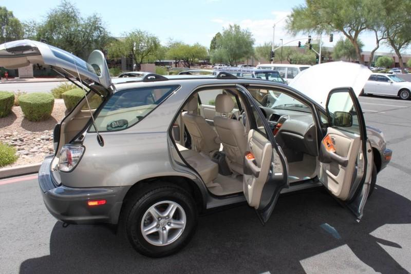 Used-2001-Lexus-RX-300-All-Wheel-Drive-1-Owner-Jeep