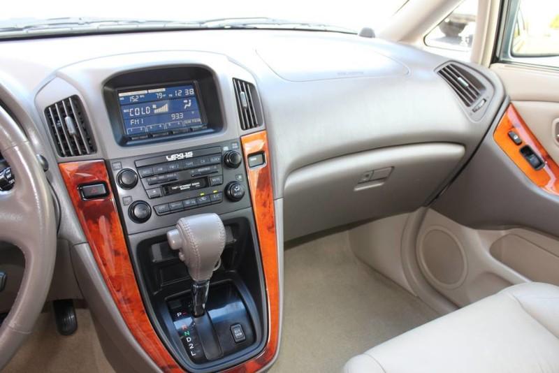 Used-2001-Lexus-RX-300-All-Wheel-Drive-1-Owner-vintage
