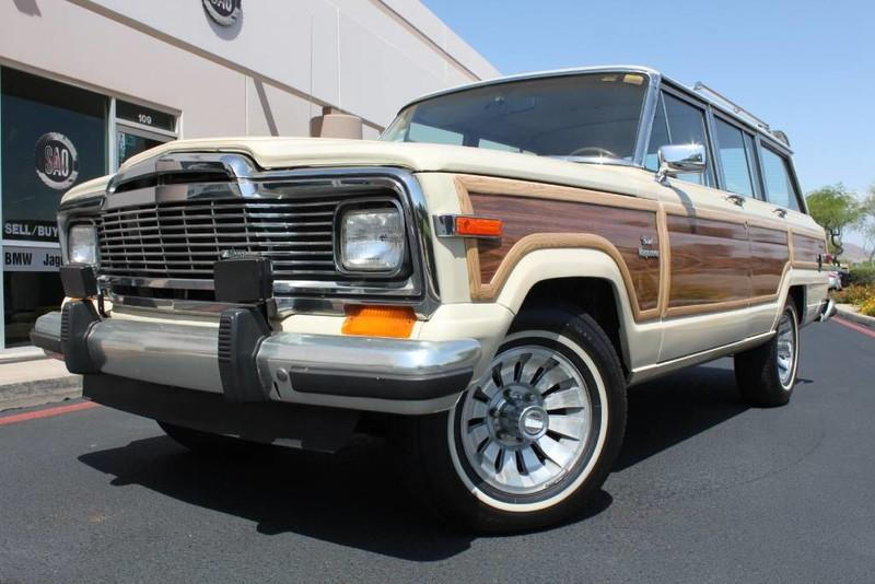 Used 1984 Jeep Grand Wagoneer Limited 4X4 <span>Grand</span> | Scottsdale, AZ