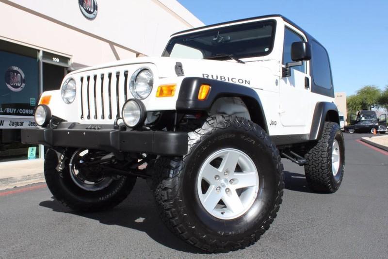 Amazing Used 2005 Jeep Wrangler U003cspanu003eRubiconu003c/spanu003e | Scottsdale, AZ