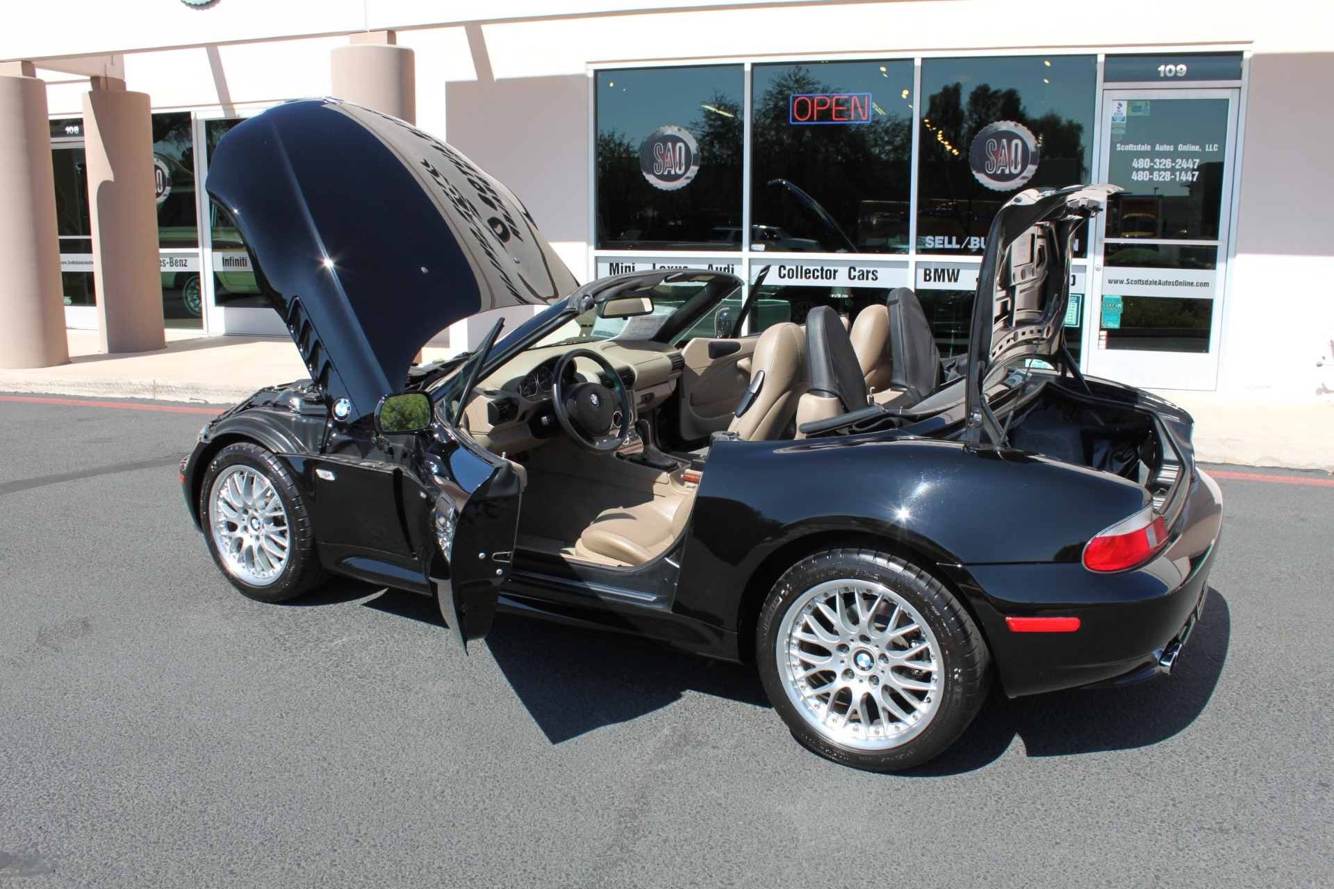 Used-2001-BMW-Z3-Roadster-30i-New-cars-for-sale-Gurnee
